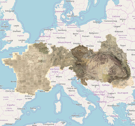 Alsput Belgium Mapire The Historical Map Portal