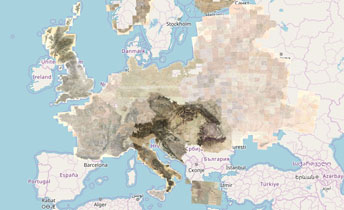 Europe In The Xix Century Mapire The Historical Map Portal